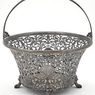 International Sterling Silver Centerpiece Basket