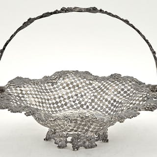 Tiffany & Co. Sterling Silver Reticulated Basket