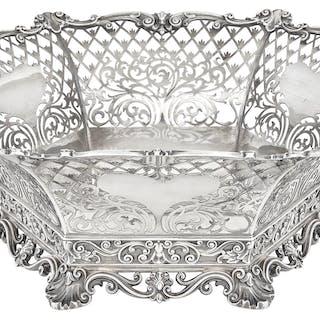 Gorham Sterling Silver Centerpiece Basket