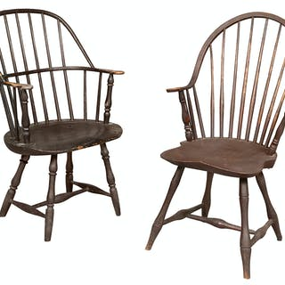 Continuous-Arm Windsor Chair