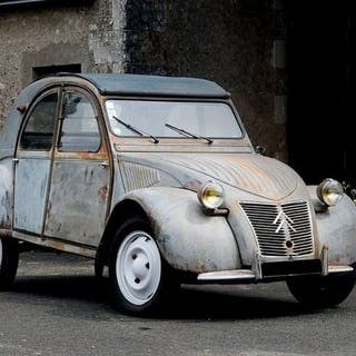 1955 - CITROËN 2CV « RESSORTS APPARENTS »