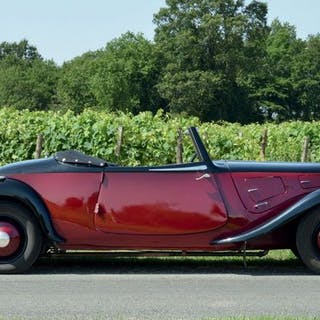 1936 - CITROEN TRACTION 11AL ROADSTER