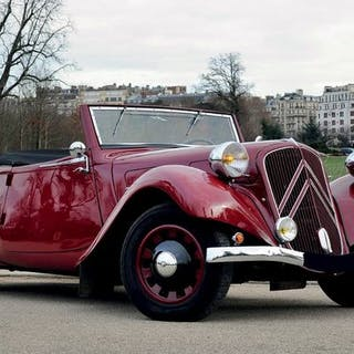 1938 - CITROEN TRACTION 11B CABRIOLET