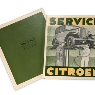 SERVICE CITROËN Reproduction de la brochure...