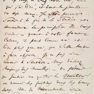 BAUDELAIRE (Charles). 1821-1867. Ecrivain poète