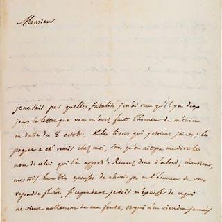 D'ALEMBERT (Jean Le Rond). 1717- 1783. Mathématicien, philosophe