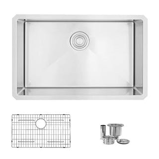 28 inch Undermount Single Bowl Stainless Steel Kit – Current ...