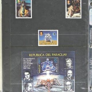 Lot of 4 Stamps - Republica Del Paraguay.