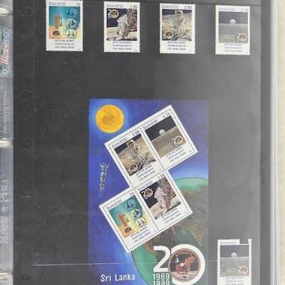 Lot of 9 Stamps - Sri Lanka.