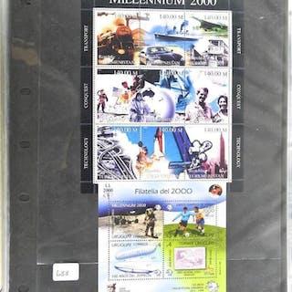 Lot of Stamps - Millennium 2000 & Filatelia Del 2000.