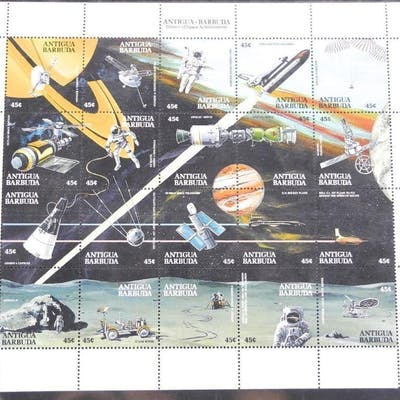 Lot of 20 Apollo 11 Stamps