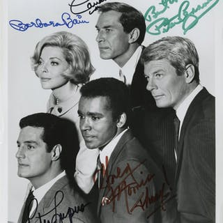 Action/Adventure TV shows (4) signed photographs from The Fugitive