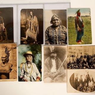 Postcards of East Coast Indians (91435)
