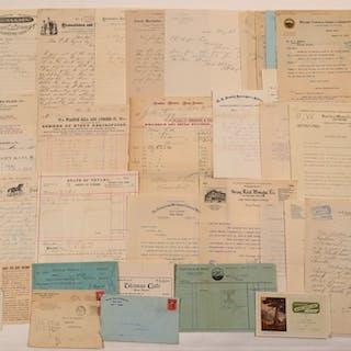Reno, Nevada Billheads, Letters, & Ephemera (107383)