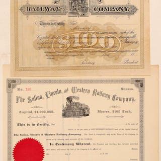 Kansas railways stocks (105533)