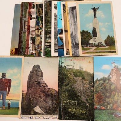 Postcards / Monuments & Churches / 20 pieces. (105384)