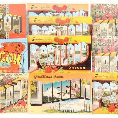 Oregon Large Letter Postcards (103264)