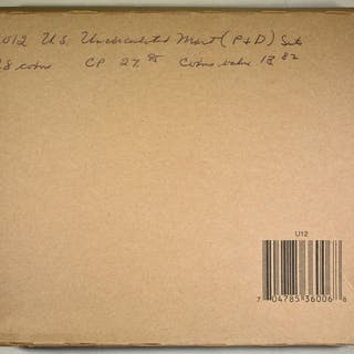 2012 U.S. MINT UNC SET SEALED IN ORIG BOX