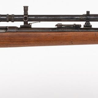 Custav Genschow & Co. Bolt-Action Rifle with scope or sight 1950s JMD-10856