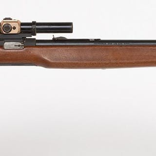 Higgins 30 Rifle with scope or sight 1960s JMD-11042