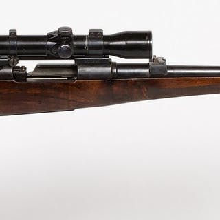 Mauser Action Rifle with scope or sight 1940s JMD-12239