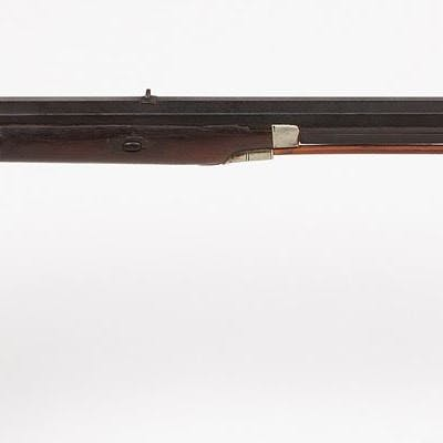 Unknown mfr  Half-Stock Kentucky Rifle 1850s JMD-10604