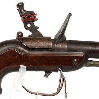 Unknown mfr. Blunderbuss Revolver mid 19th century JMD-11155