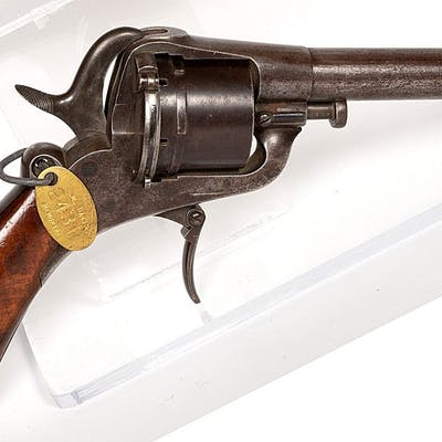 Unknown mfr. Revolver 1840s JMD-11307