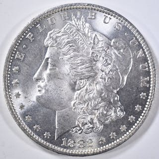 1882-O MORGAN DOLLAR GEM BU