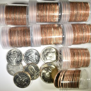 BU KENNEDY HALF DOLLAR LOT: