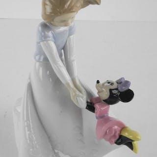 NAP Disney Fine Porcelain Figurine, Friends with M