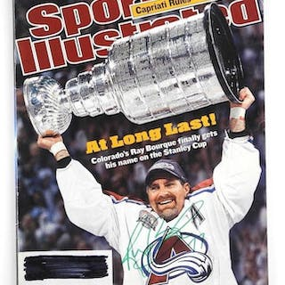 Ray Bourque Sports Illustrated Cover - Stanley Cup