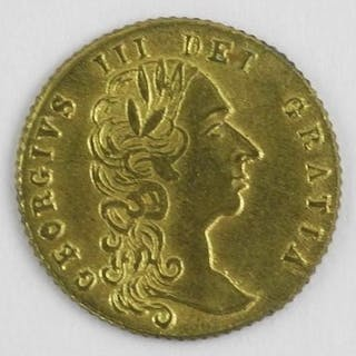 Great Britain - Late 1700s King George III Gold Pl