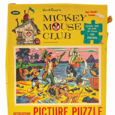 Mickey Mouse Club Picture Puzzle.