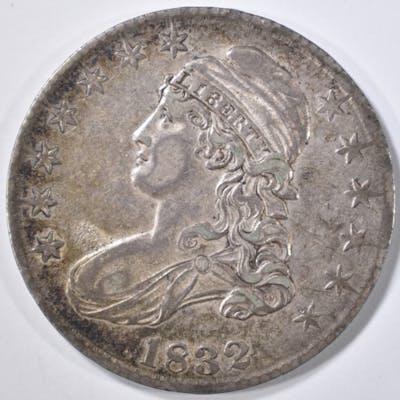 1832 BUST HALF DOLLAR XF