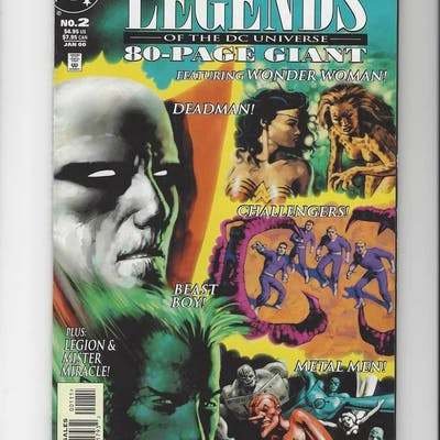 Legends of the DC Universe Issue #2 by DC Comics
