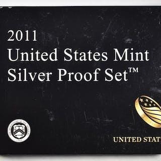 2011 U.S. SILVER PROOF SET IN ORIG PACKAGING
