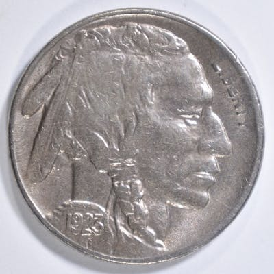 1923-S BUFFALO NICKEL XF/AU