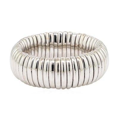 Stretch Band - 18KT White Gold