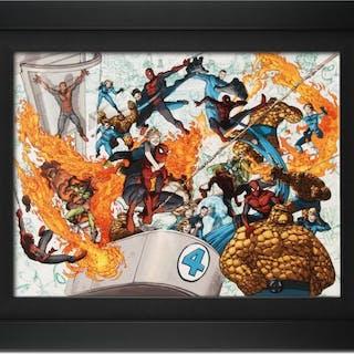 Spider-Man/Fantastic Four #4 by Stan Lee - Marvel Comics