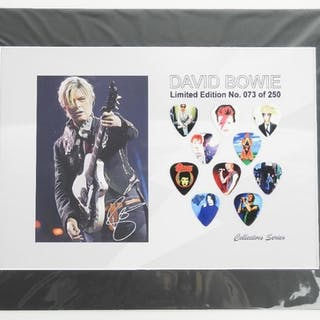 David Bowie - Limited Edition Guitar Pick Collecti