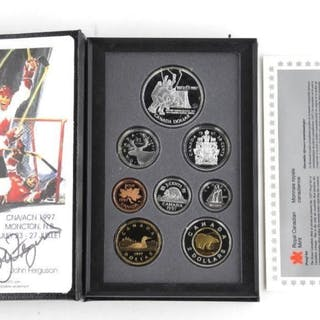 1997 Proof Coin set with Special 1972-1997 Dollar