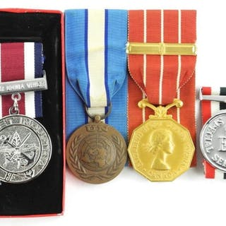 Estate Lot (4) Special Services Medals