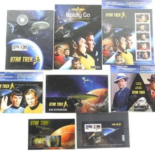STAR TREK - Collection Stamps Coin, Special Issue