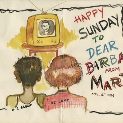 Martin Landau (3) lovingly inscribed and signed photographs from Barbara