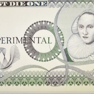 1900'S EXPERIMENTAL BRITISH BANK NOTE