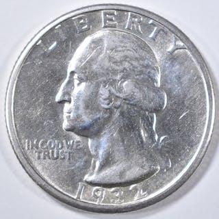 1932-D WASHINGTON QUARTER BU