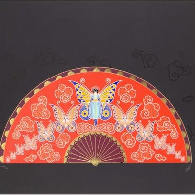 Madame Butterfly by Erte (1892-1990)