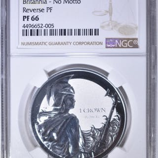 2017 PM FALKLANDS SILVER CROWN NGC PF-66