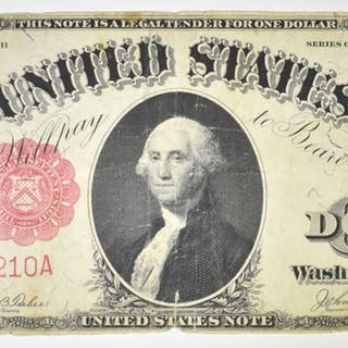 1917 $1 LEGAL TENDER FINE
